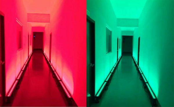 B14 - 14pcs 30W LED Wall Washer Bar
