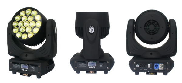 L1915BZ - 19pcs * 15W LED Bee Eye Zoom Moving Head Light